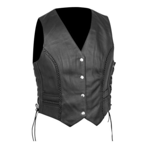 Women's Premium Braided Vest